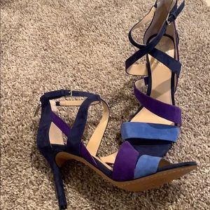 Vince Camuto Tri-Colored Strapy Sandals *NEW*